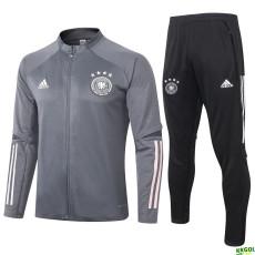 2020 Germany Dark Grey Jacket Tracksuit