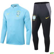 20-21 Brazil Blue Jacket Tracksuit