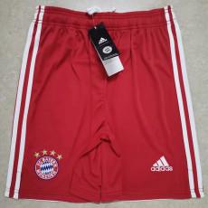 20-21 Bayern Home Red Shorts Pants