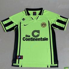 1996 Dortmund Green Retro Soccer Jersey