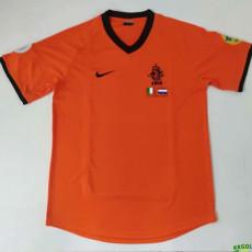 2000 Netherlands Home Retro Soccer Jersey
