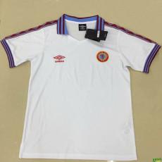 1980 Aston Villa White Retro Soccer Jersey