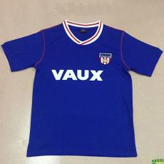 1990 Sunderland Blue Retro Soccer Jersey