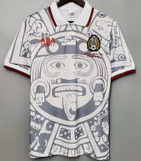 1998 Mexico Away Retro Soccer Jersey