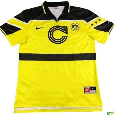 1997 Dortmund UCL Champion Retro Soccer Jersey