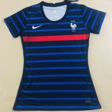 20-21 France Home Women Soccer Jersey