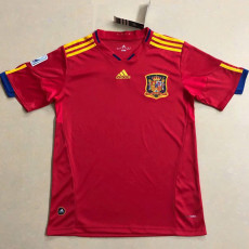 2010 Spain Home Retro Soccer Jersey