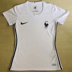 20-21 France Away Women Soccer Jersey