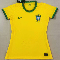 20-21 Brazil Home Women Soccer Jersey