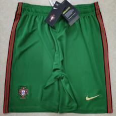 2020 Portugal Green Shorts Pants