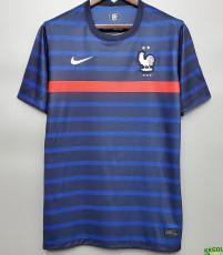 2020 France Home 1:1 Fans Soccer Jersey