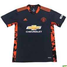 20-21 Man Utd Home GoalKeeper Soccer Jersey