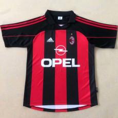 2000-2001 ACM Home Retro Soccer Jersey