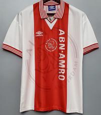 1995-1996 Ajax Home Retro Soccer Jersey