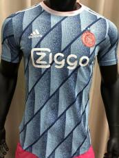 20-21 Ajax Away Player Version Soccer Jersey