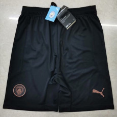 20-21 Man City Away Shorts Pants