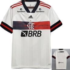 2020 Flamengo 1:1 Away Fans Soccer Jersey  With Sponsor (No FLA TV)