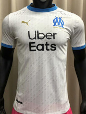 20-21 Marseille Home Player Version Soccer Jersey