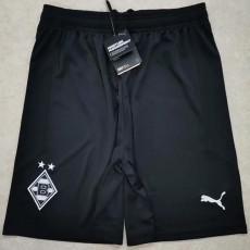 20-21 Monchengladbach Away Black Shorts Pants