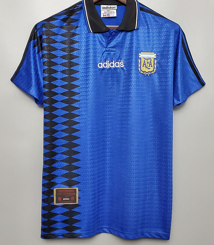 US$ 19.00 - 1994 Argentina Away Retro Soccer Jersey - m.kkgol.com