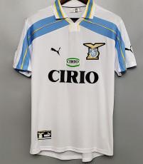 2000-2001 Lazio Home Retro Soccer Jersey
