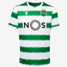 20-21 Sporting Lisbon Home Fans Soccer Jersey