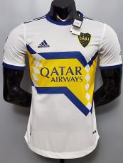20-21 Boca Juniors  Away Player Version Soccer Jersey