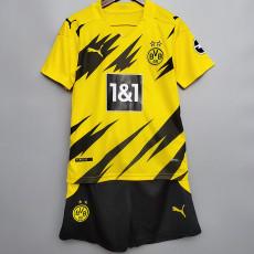 20-21 Dortmund Home Kids Soccer Jersey