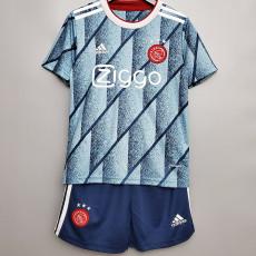 20-21 Ajax Away Kids Soccer Jersey