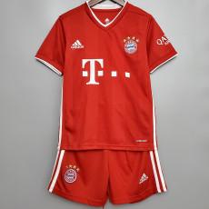 20-21 Bayern Home Kids Soccer Jersey