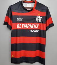 2009-2010 Flamengo  Home Retro Soccer Jersey