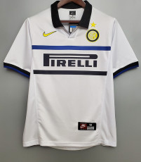 1998-1999 INT Away  Retro Soccer Jersey
