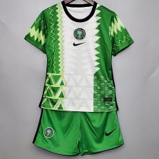Nigeria Home Kids Soccer Jersey 2020
