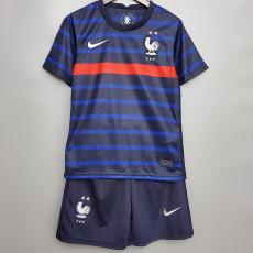 2020 France Home Kids Soccer Jersey