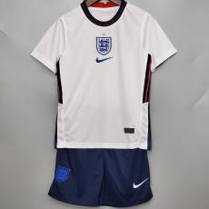 2020 England Home Kids Soccer Jersey