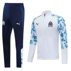 20-21 Marseille White Jacket Tracksuit