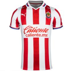 20-21 Chivas Home Fans Soccer Jersey