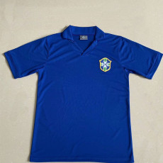 1957 Brazil Away Retro Soccer Jersey