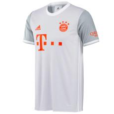 20-21 Bayern 1:1 Away White Fans Soccer Jersey