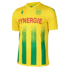 20-21 Nantes Home Fans Soccer Jersey