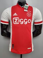 20-21 Ajax Home Player Version Soccer Jersey