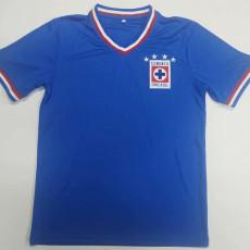 1974 Cruz Azul Home Retro Soccer Jersey