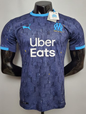 20-21 Marseille Away Player Version Soccer Jersey