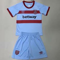 20-21 West Ham Away Kids Soccer Jersey