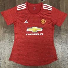 20-21 Man Utd Home Women Soccer Jersey