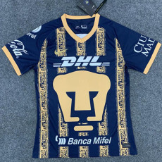 2020 Pumas UNAM Dark Blue Gold training shirts
