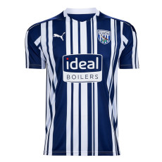 20-21 West Brom Home Fans Soccer Jersey