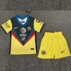 2020 Club America Home Kids Soccer Jersey