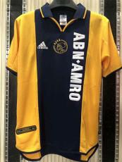 2000-2001 Ajax Away Retro Soccer Jersey