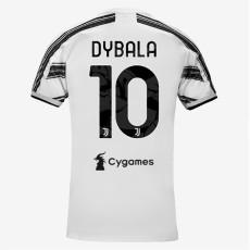 DYBALA #10 JUV 1:1 Home Fans Soccer Jersey 2020/21 带背下广告